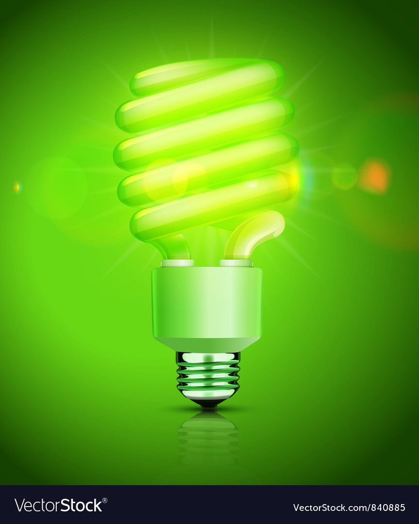 Fluorescent lightbulb vector | Price: 3 Credit (USD $3)