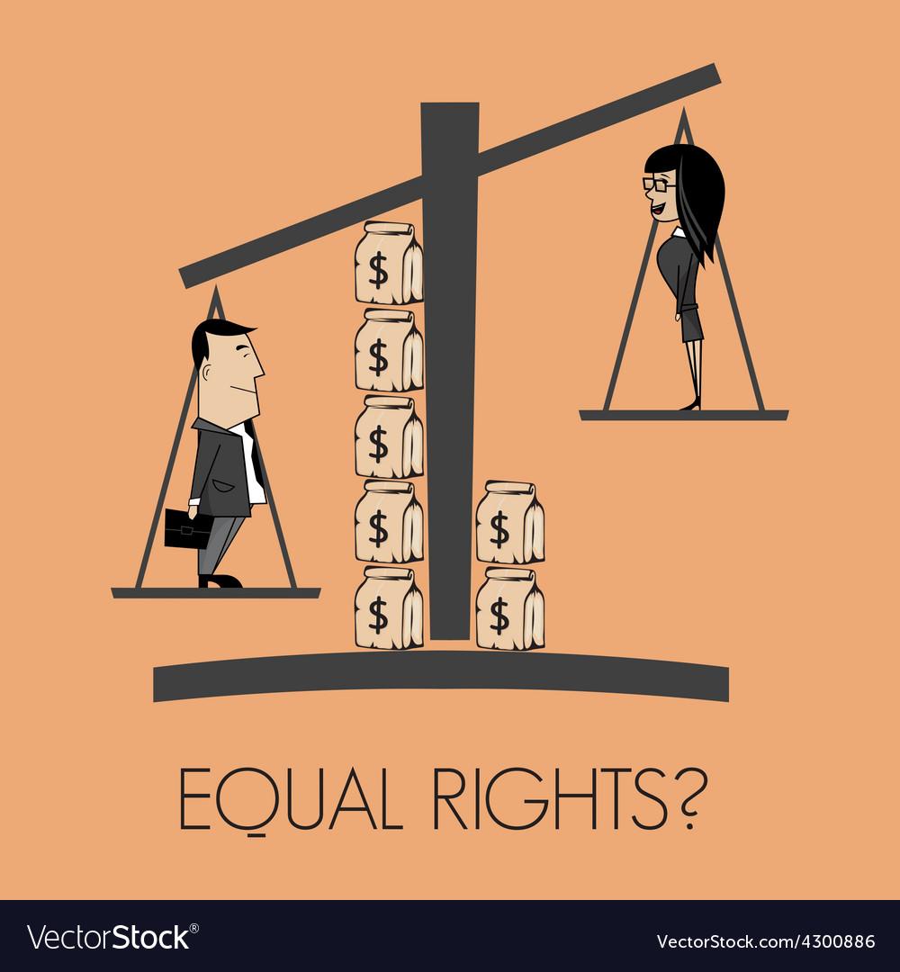 Equal rights pitanje2 resize vector   Price: 1 Credit (USD $1)