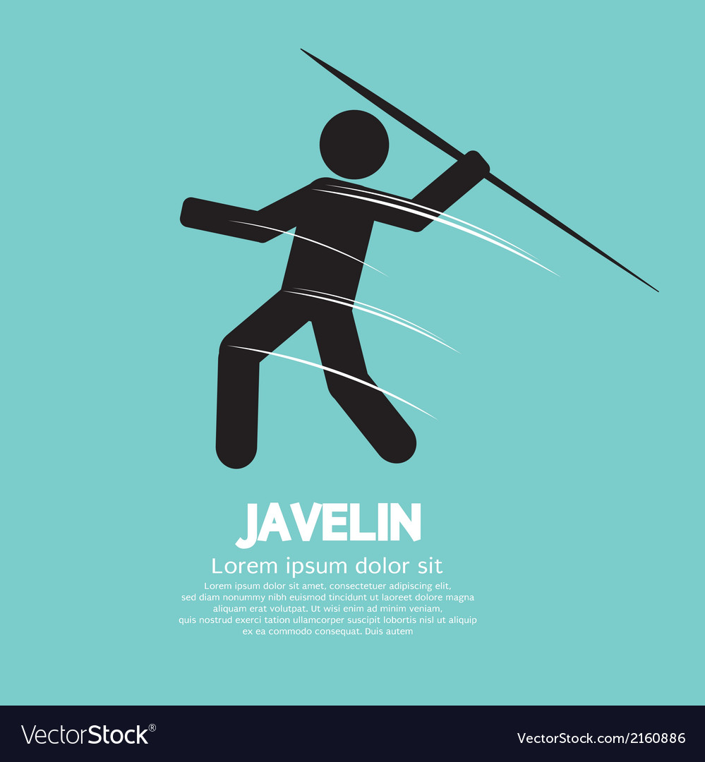 Javelin vector | Price: 1 Credit (USD $1)