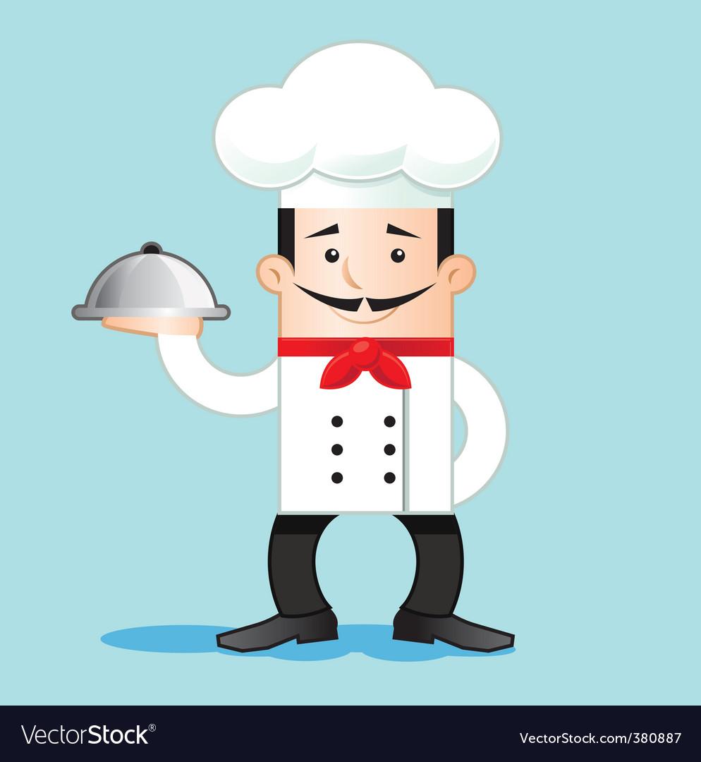 Cartoon of chef vector | Price: 1 Credit (USD $1)