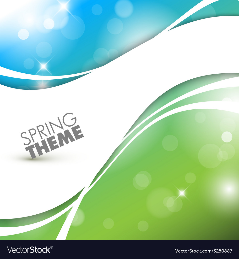 Spring abstract background vector   Price: 1 Credit (USD $1)
