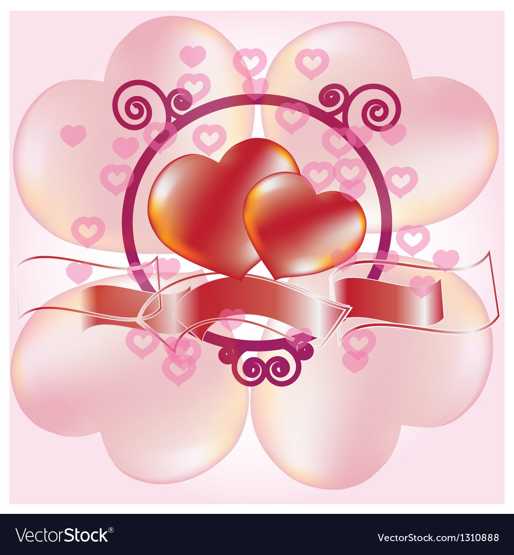Love two vector | Price: 1 Credit (USD $1)