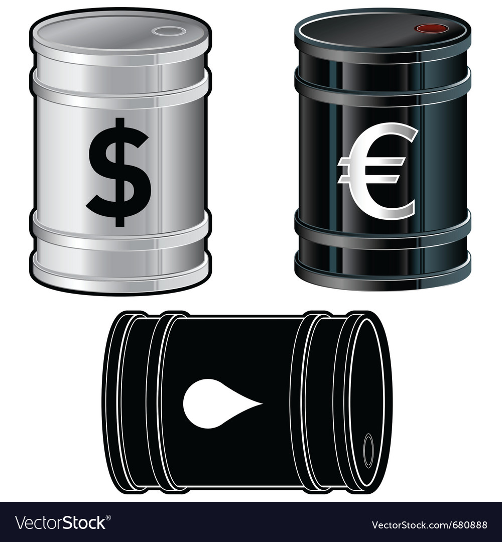 Oil drum vector | Price: 1 Credit (USD $1)
