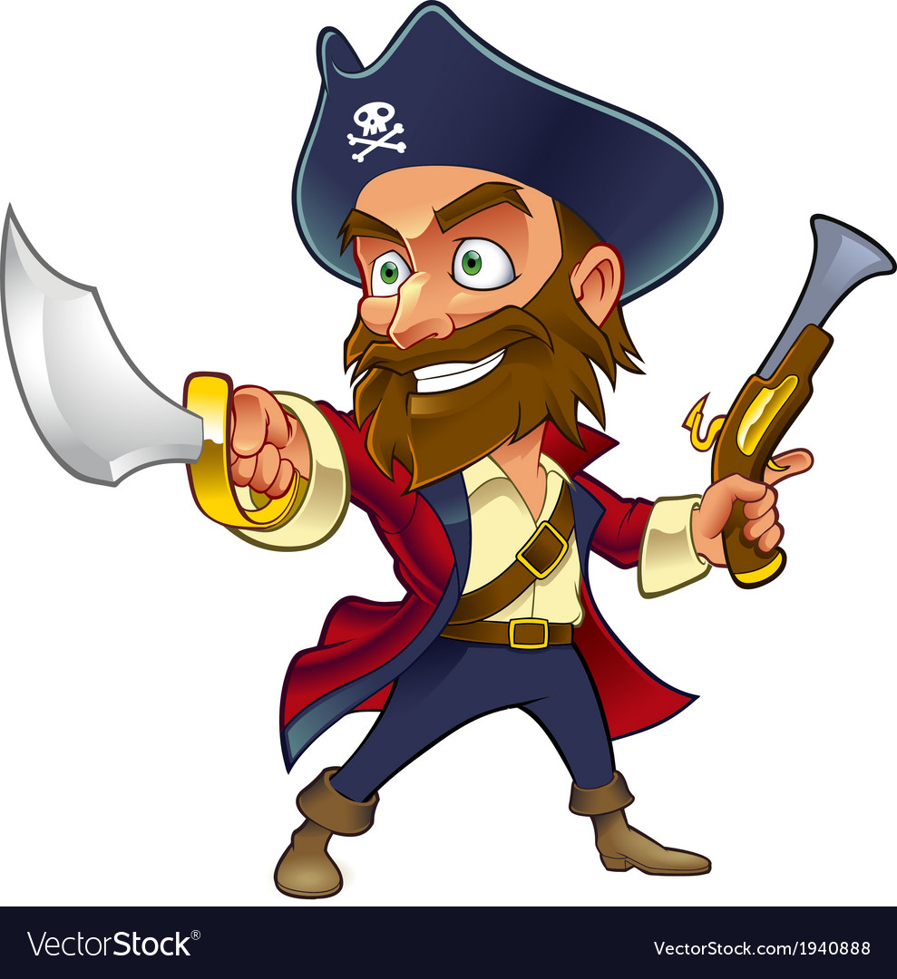 Pirate vector | Price: 3 Credit (USD $3)