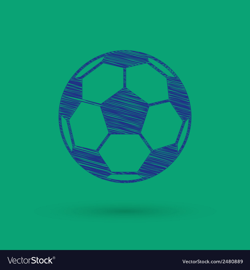 Football icon vector | Price: 1 Credit (USD $1)