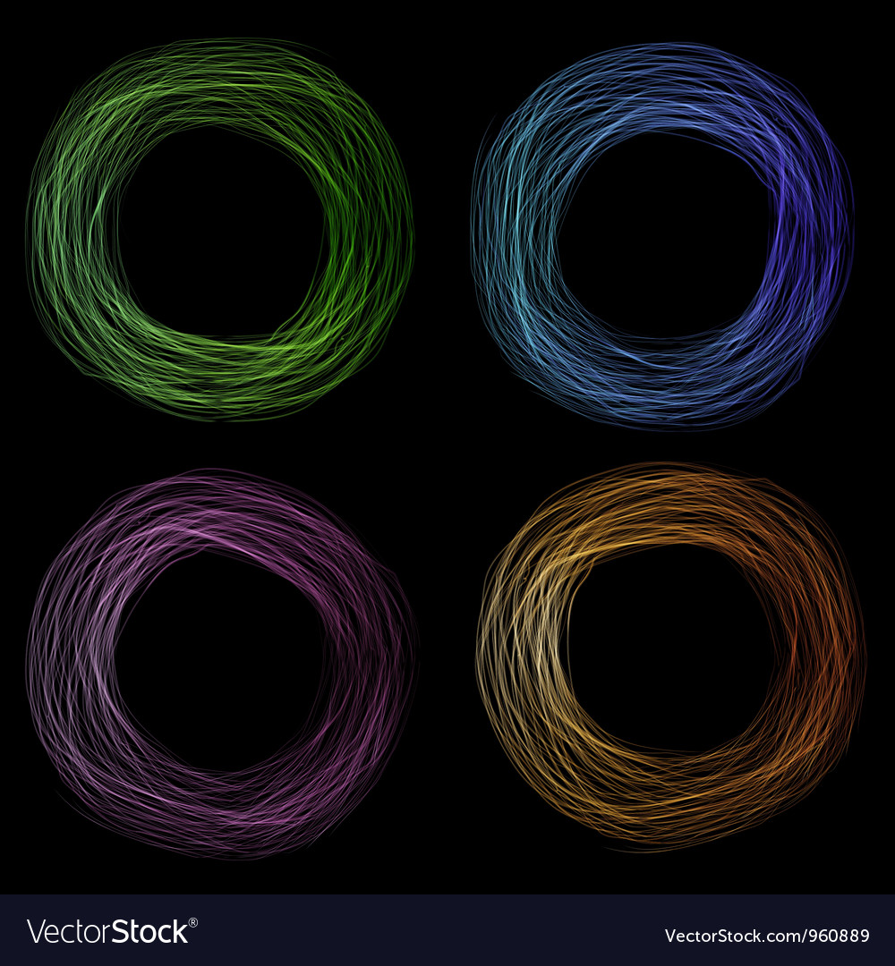 Scribble circle vector | Price: 1 Credit (USD $1)