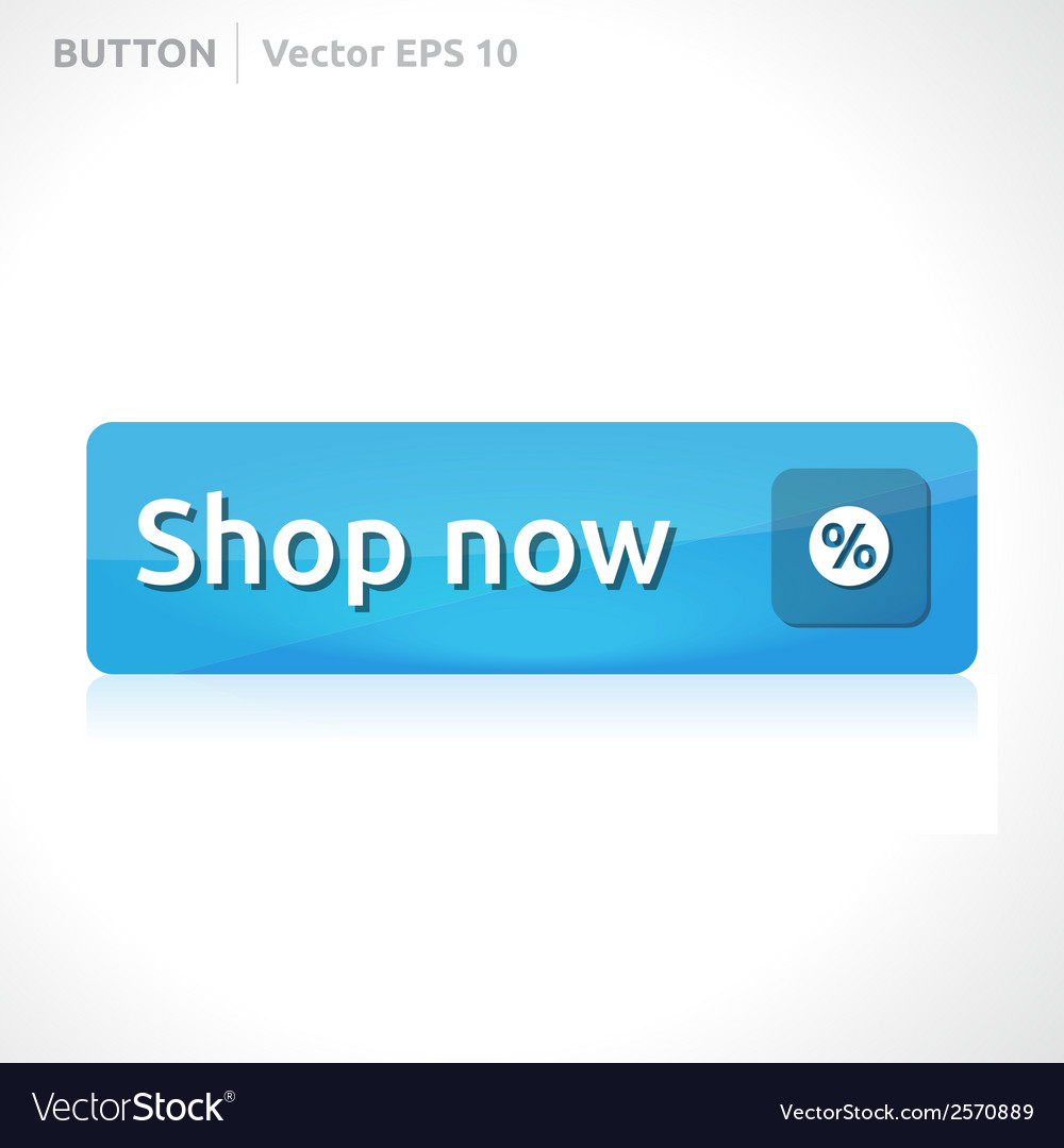 Shop now button template vector | Price: 1 Credit (USD $1)