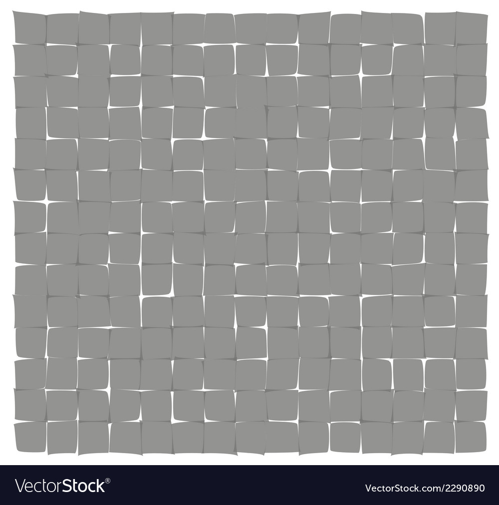 Abstract gray deformed squares vector | Price: 1 Credit (USD $1)