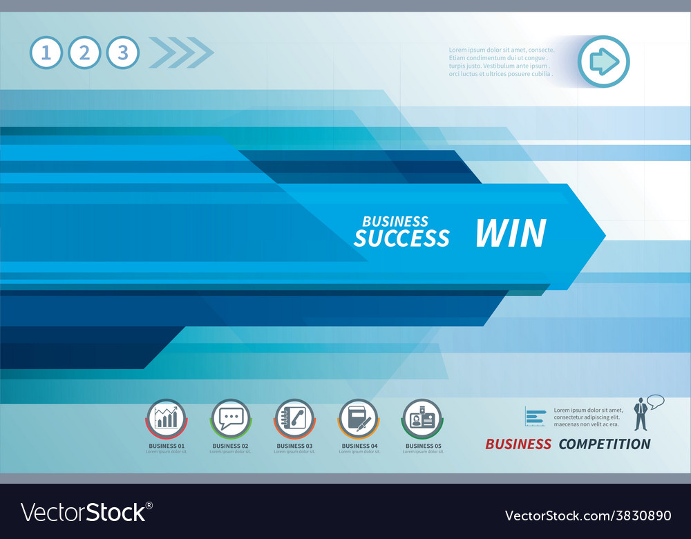 Line speed business background vector | Price: 1 Credit (USD $1)