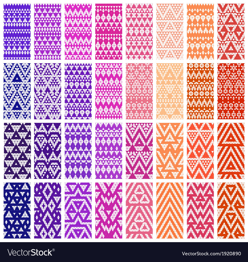 Set of 24 patterns vector | Price: 1 Credit (USD $1)