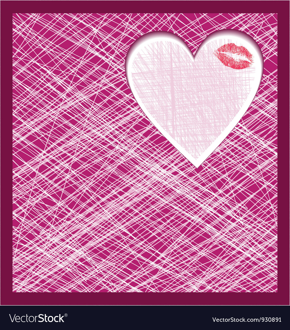 Abstract heart background vector | Price: 1 Credit (USD $1)