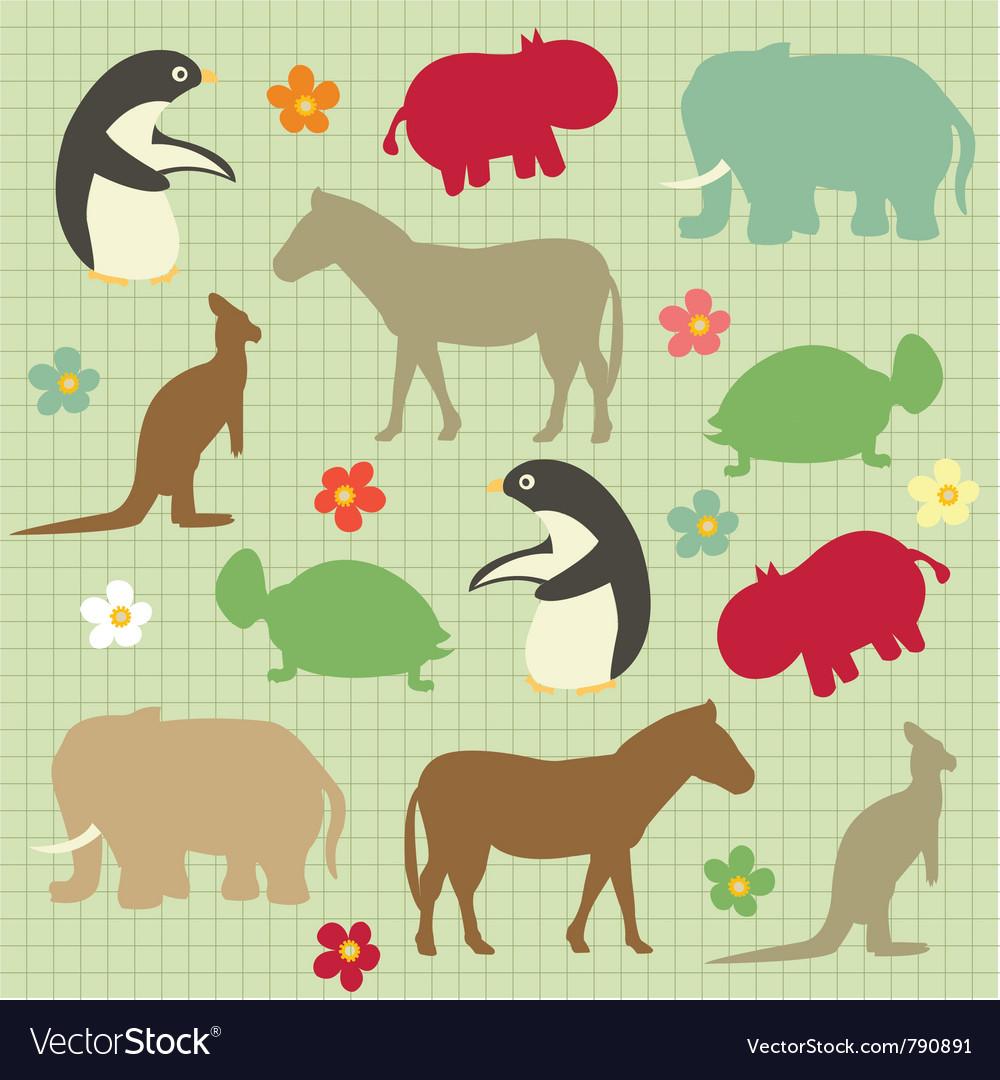 Abstract natural animal vector | Price: 1 Credit (USD $1)