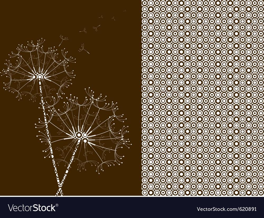 Dandelions pattern effect vector   Price: 1 Credit (USD $1)