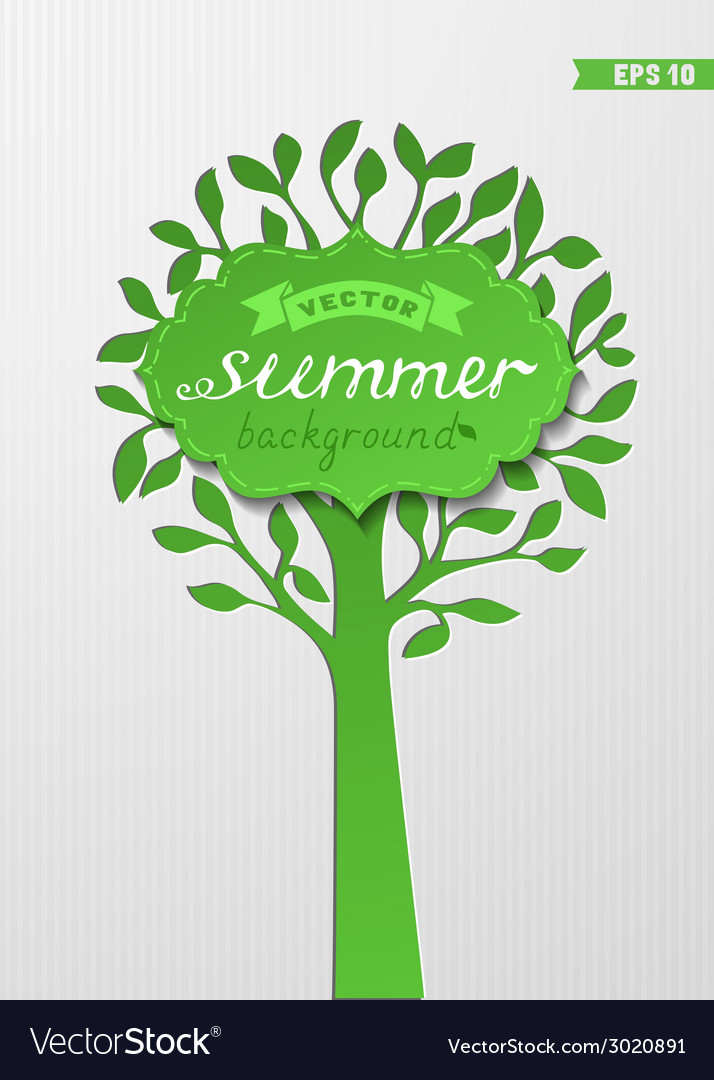 Summer paper background vector | Price: 1 Credit (USD $1)