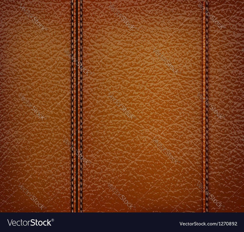 Brown leather background vector | Price: 1 Credit (USD $1)