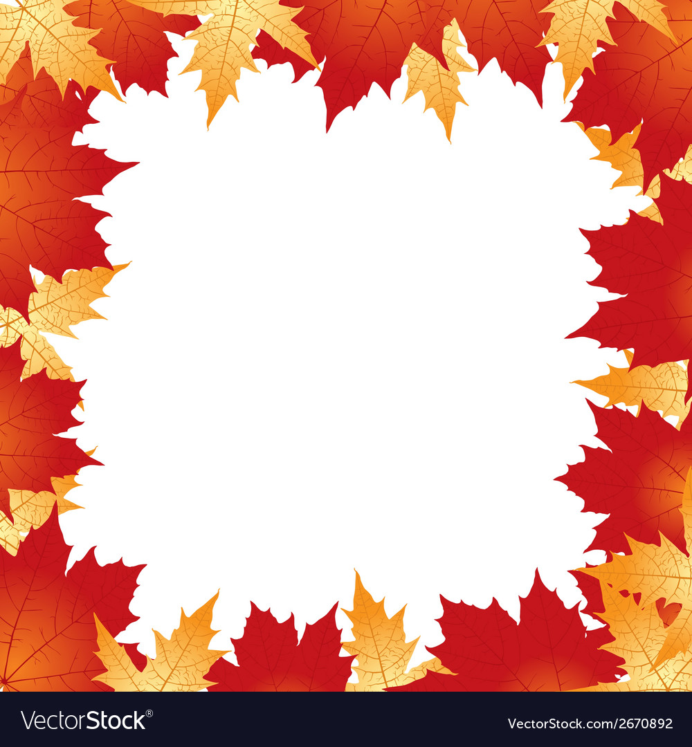 Leawes border vector | Price: 1 Credit (USD $1)