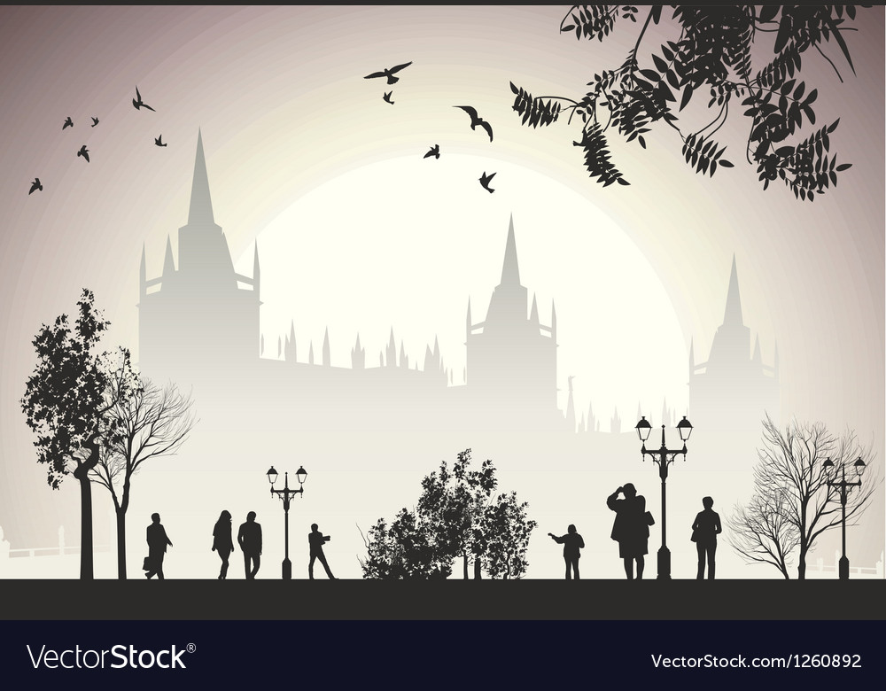 New town hall in munich vector | Price: 1 Credit (USD $1)