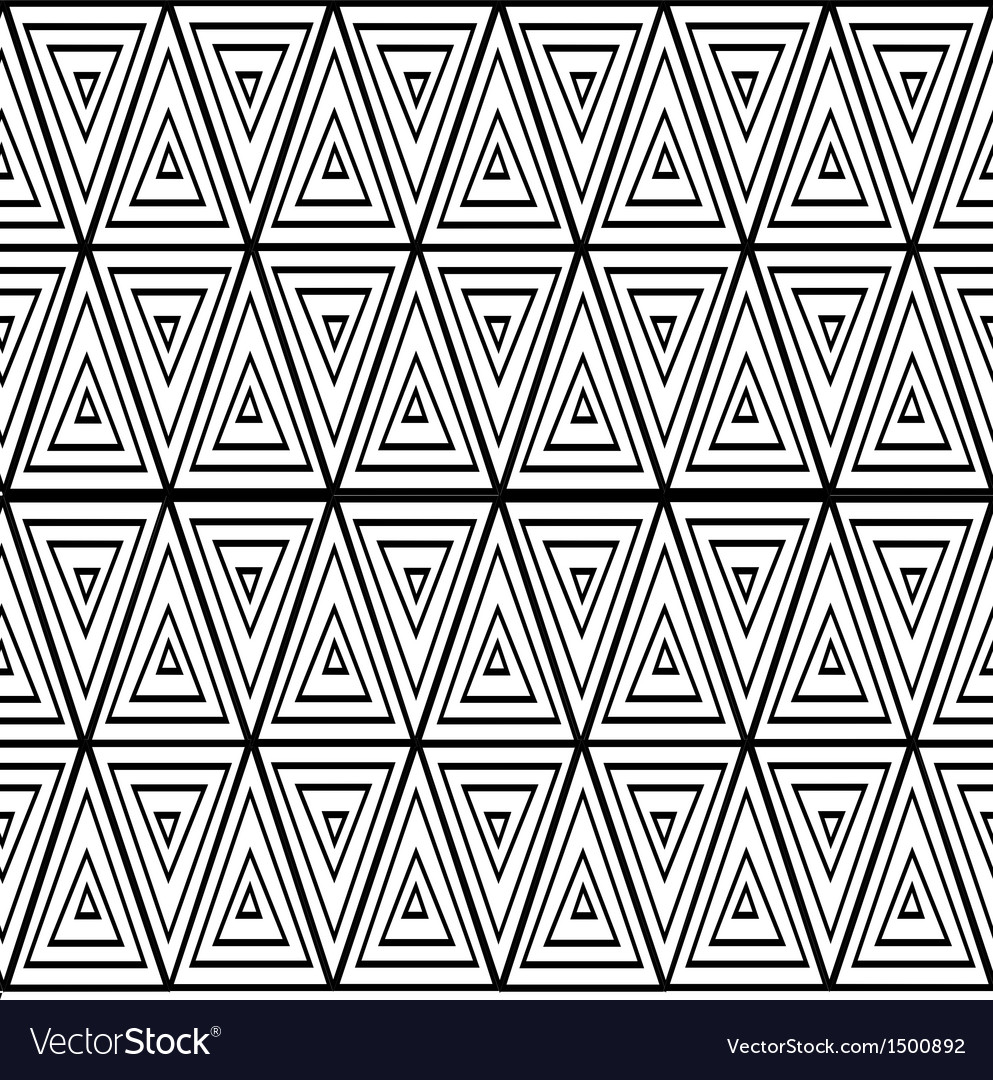 Seamless triangle background vector | Price: 1 Credit (USD $1)