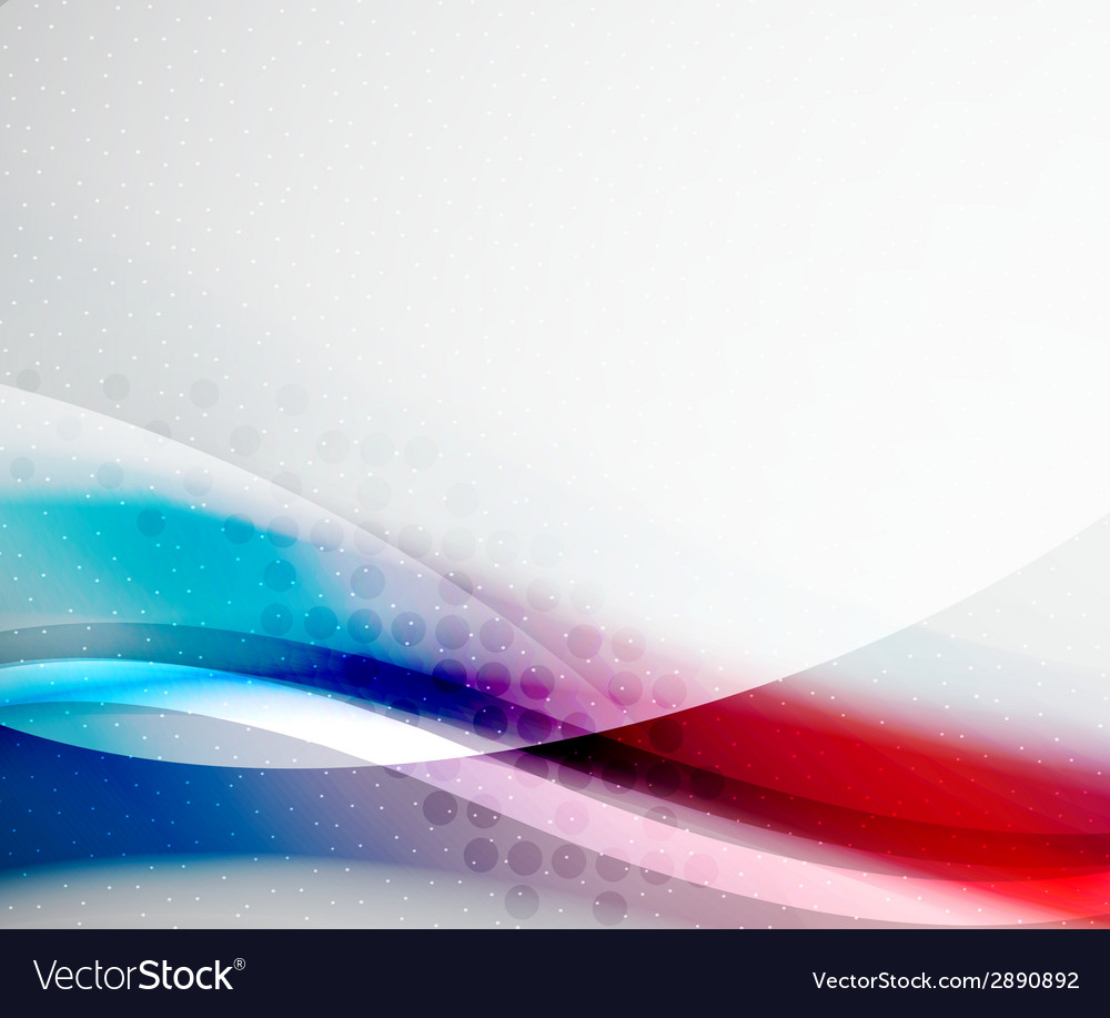 Unusual abstract red and blue wave vector | Price: 1 Credit (USD $1)