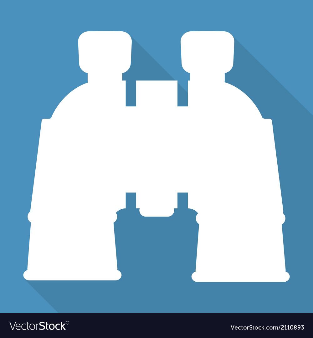 Binocular icon symbol vector | Price: 1 Credit (USD $1)