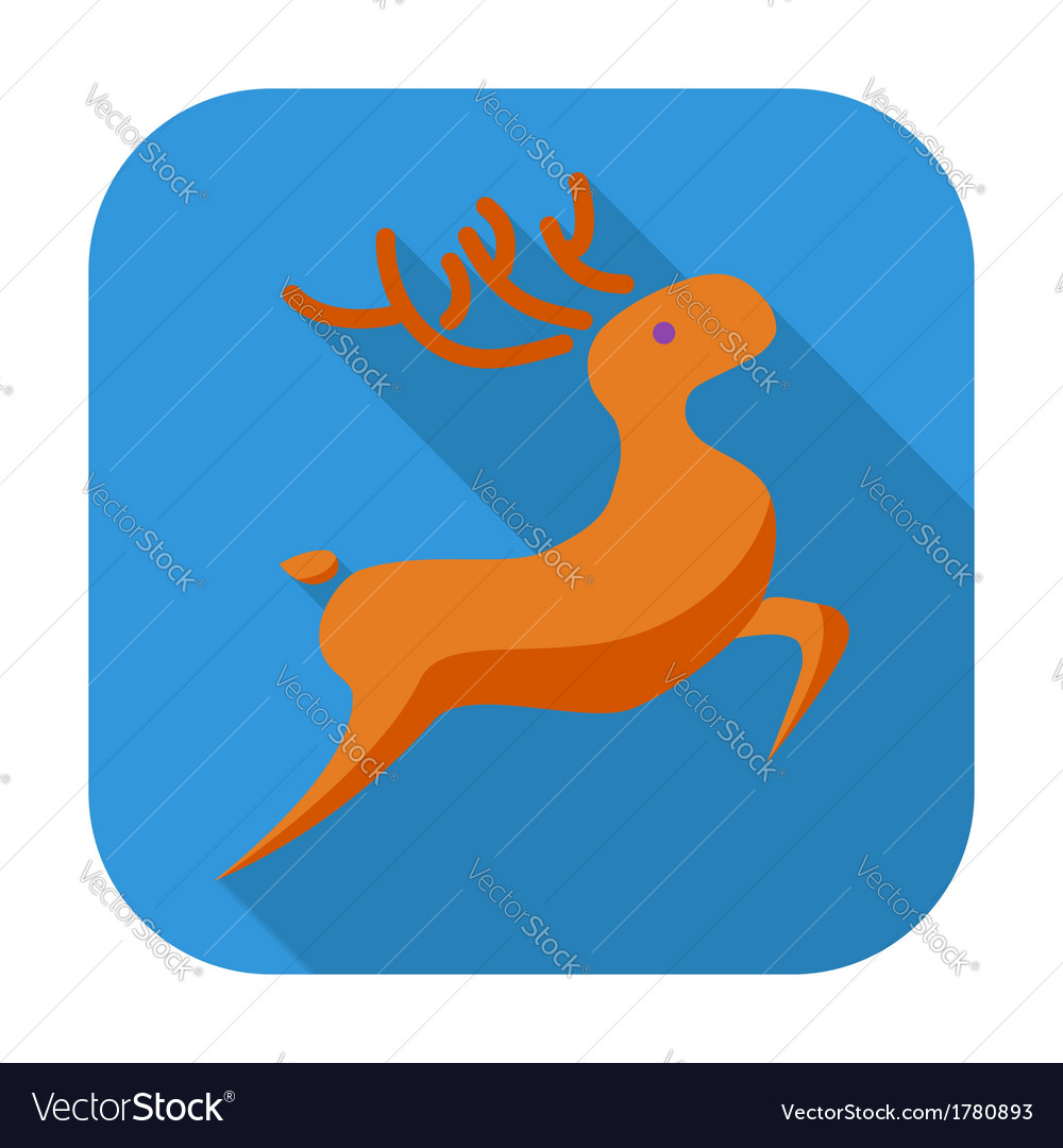 Deer icon vector | Price: 1 Credit (USD $1)