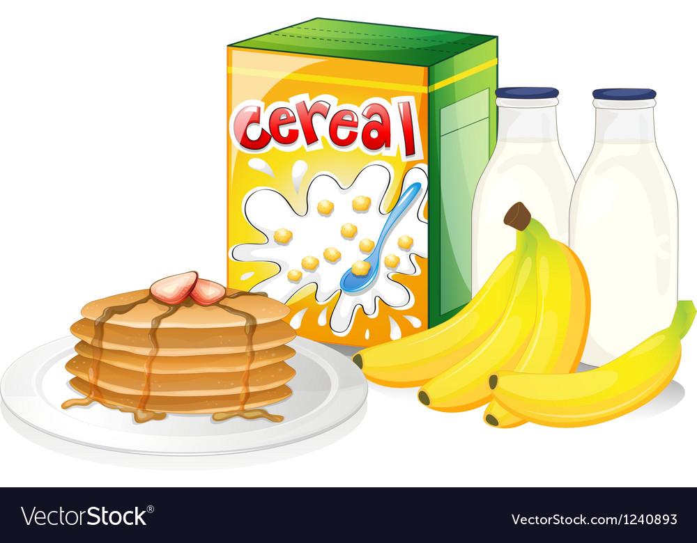 Full breakfast meal vector | Price: 1 Credit (USD $1)