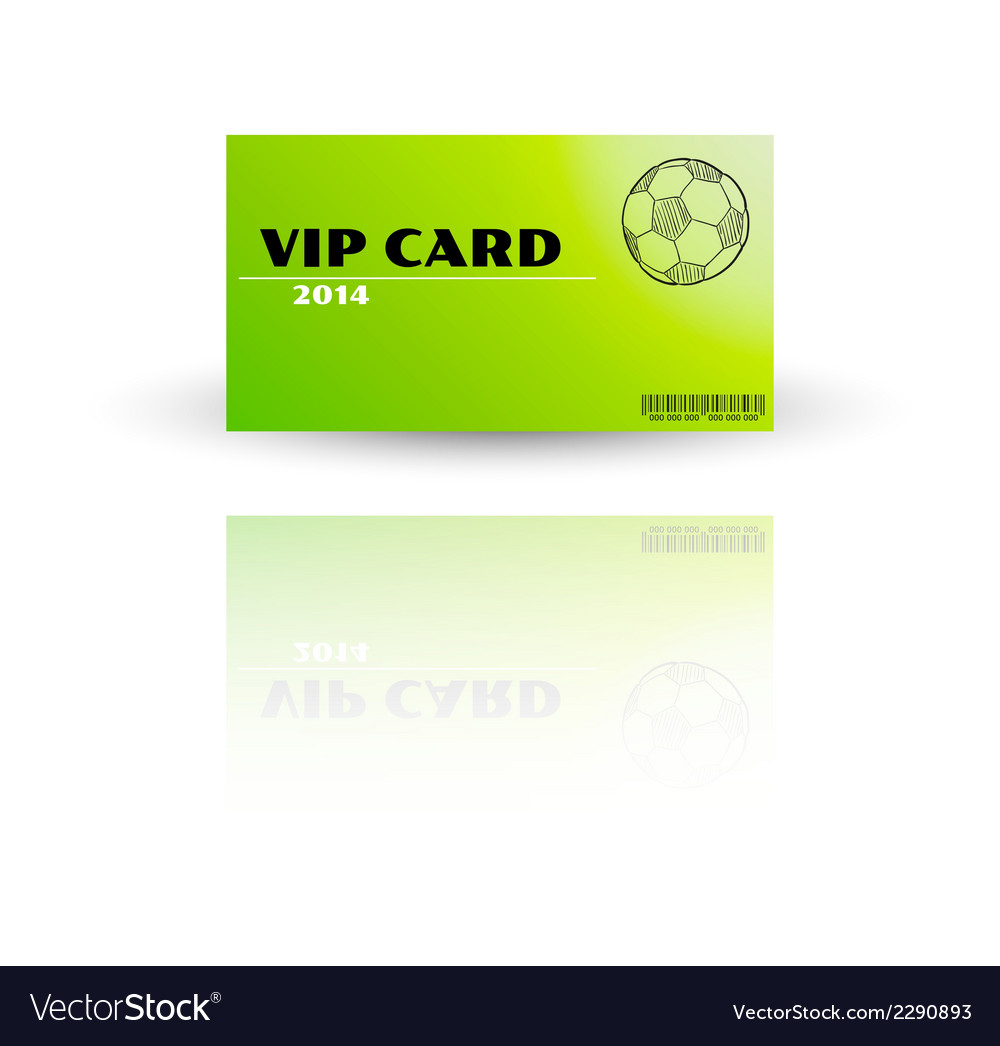 Modern vip card template vector | Price: 1 Credit (USD $1)