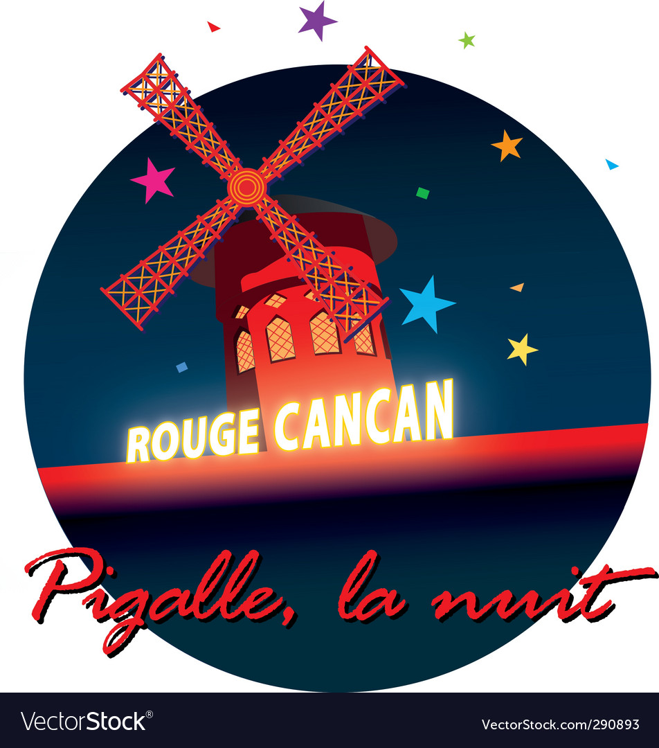 Moulin rouge vector | Price: 1 Credit (USD $1)