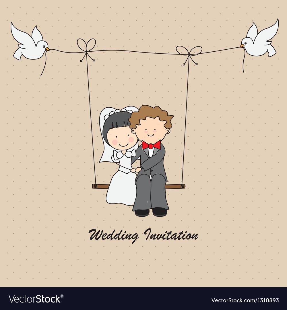 Wedding invitation vector   Price: 3 Credit (USD $3)