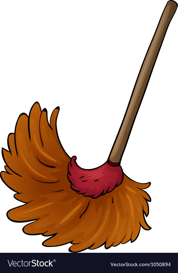 A broom vector | Price: 1 Credit (USD $1)