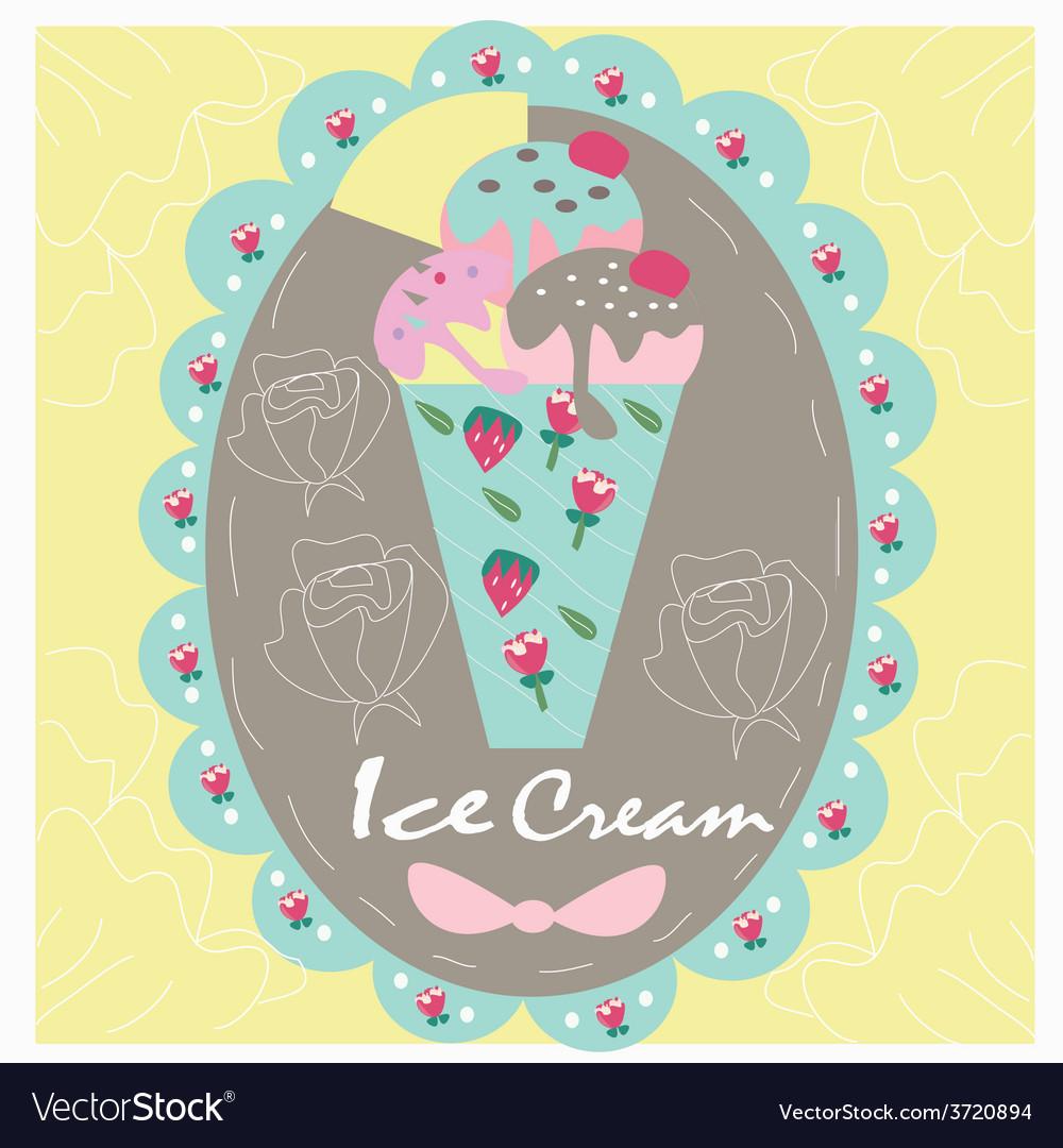 Logo sweet icecream vector | Price: 1 Credit (USD $1)
