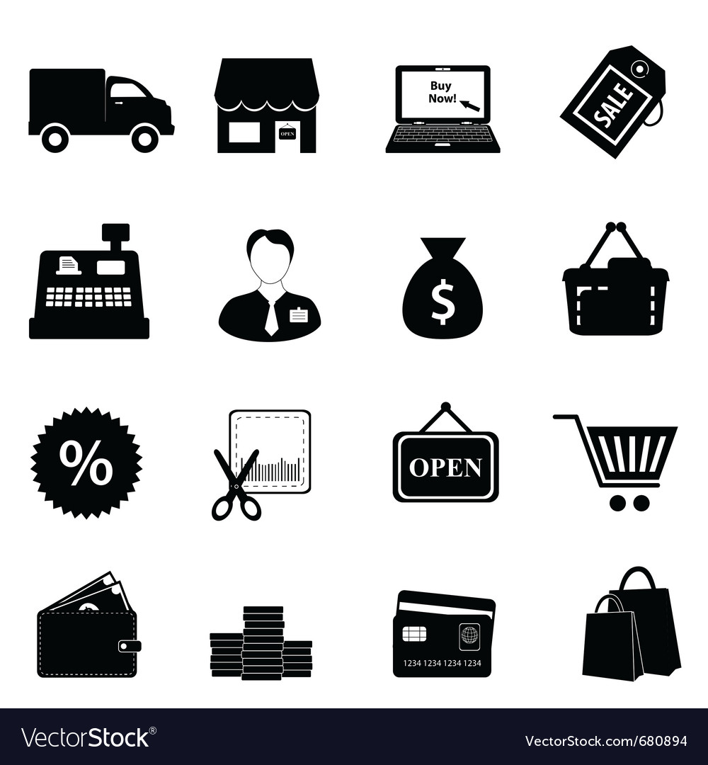 Money icons vector | Price: 1 Credit (USD $1)