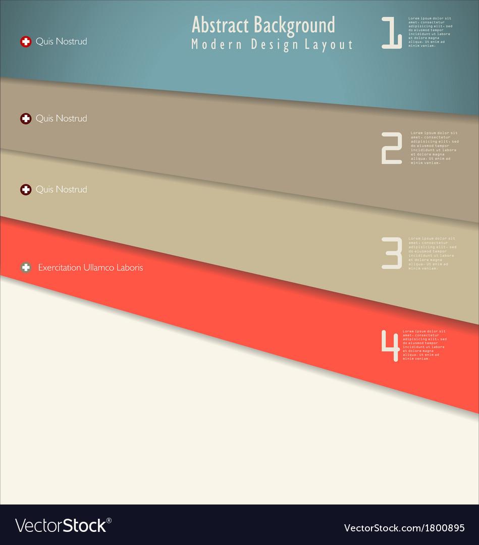 Modern design template vector   Price: 1 Credit (USD $1)