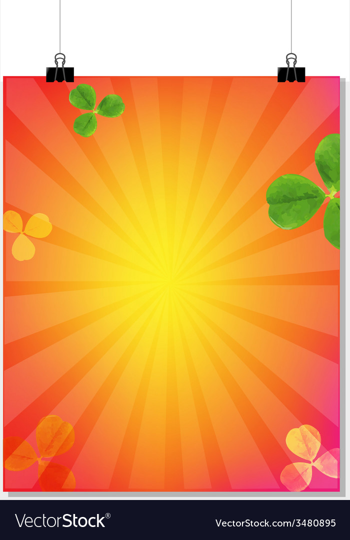 Summer sale banner with sunburst vector | Price: 1 Credit (USD $1)