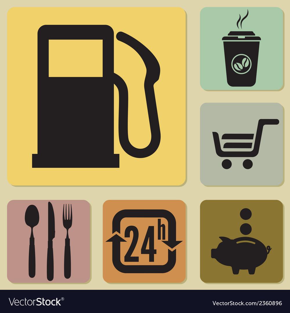 Benzin ikone3 vector | Price: 1 Credit (USD $1)