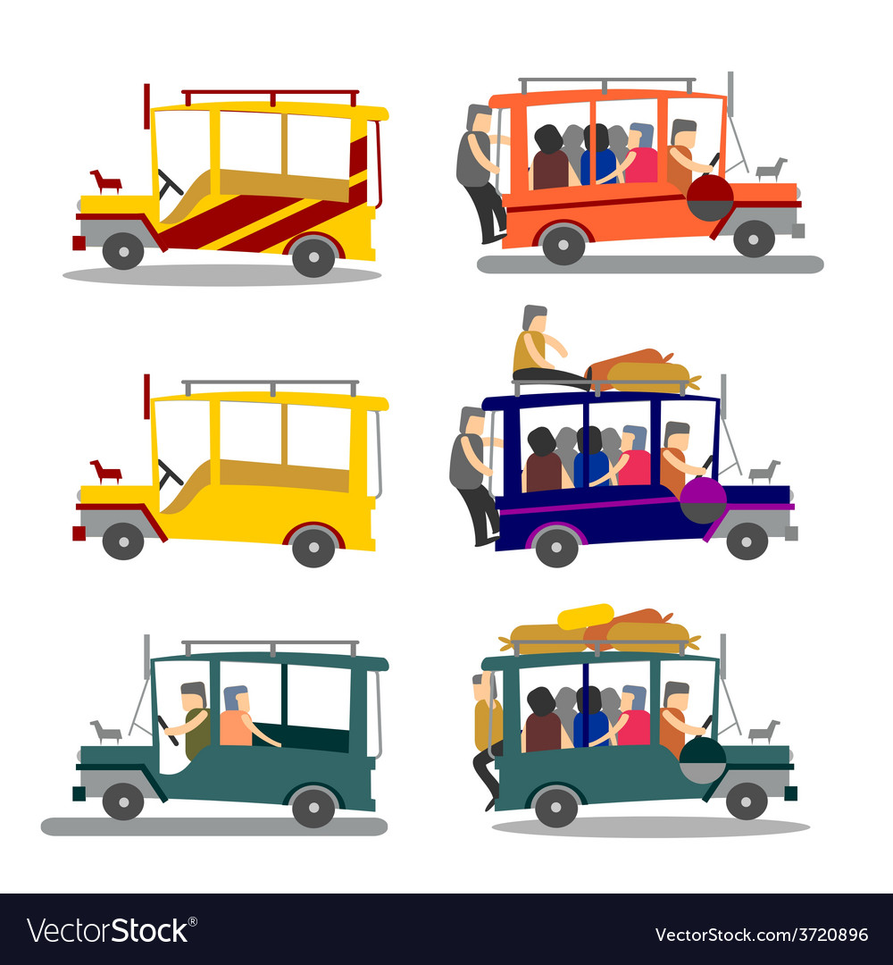 Philippine jeepney vector | Price: 3 Credit (USD $3)