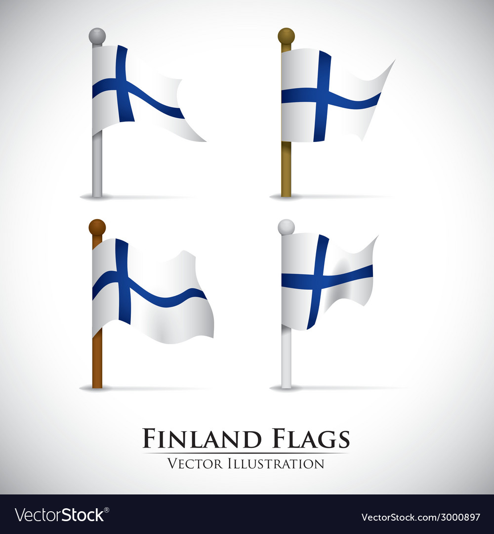 Finland design vector   Price: 1 Credit (USD $1)