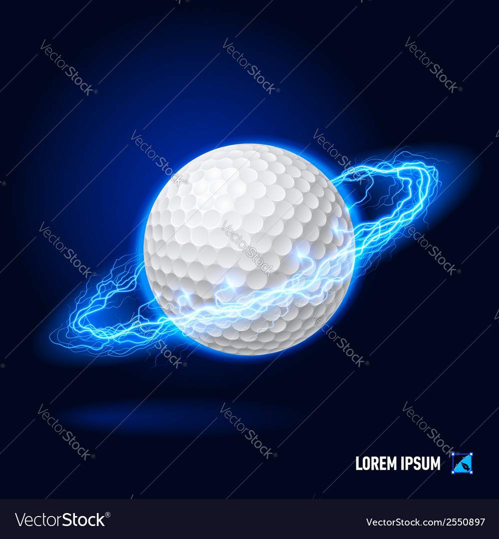 Golf high voltage vector | Price: 1 Credit (USD $1)