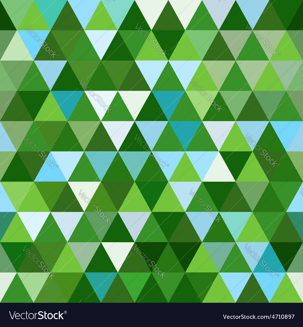 Seamless geometric background mosaic vector | Price: 1 Credit (USD $1)