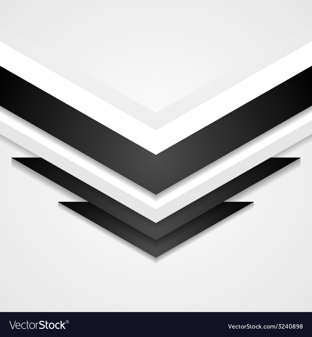 Abstract corporate background with arrows elements vector | Price: 1 Credit (USD $1)
