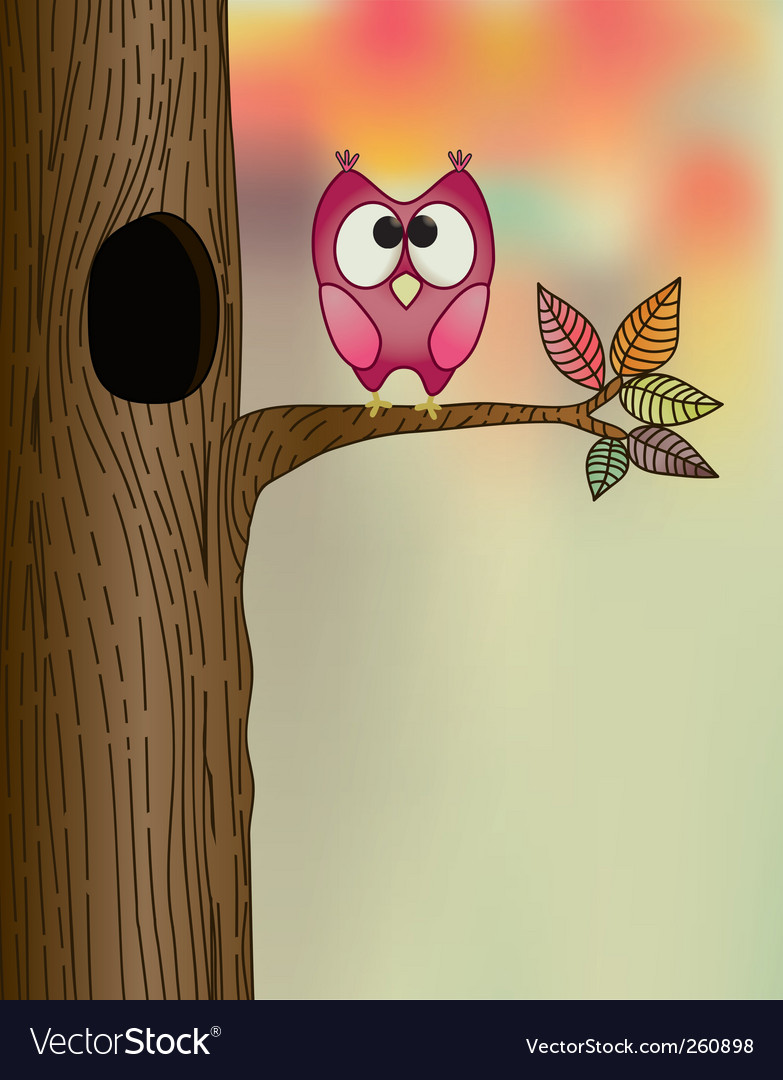 Cute owl vector | Price: 3 Credit (USD $3)