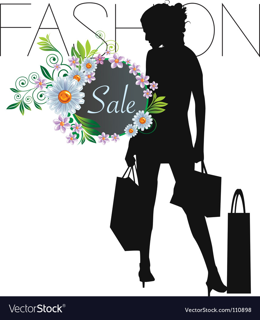 Fashion sale vector | Price: 1 Credit (USD $1)