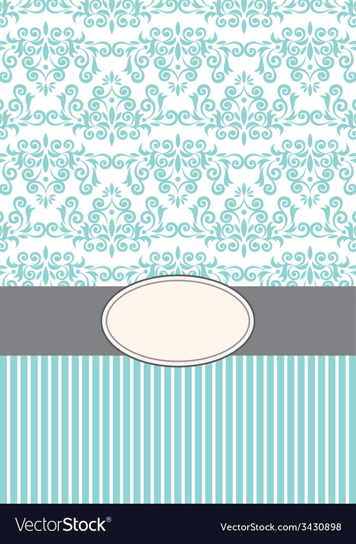 Invitation background vector