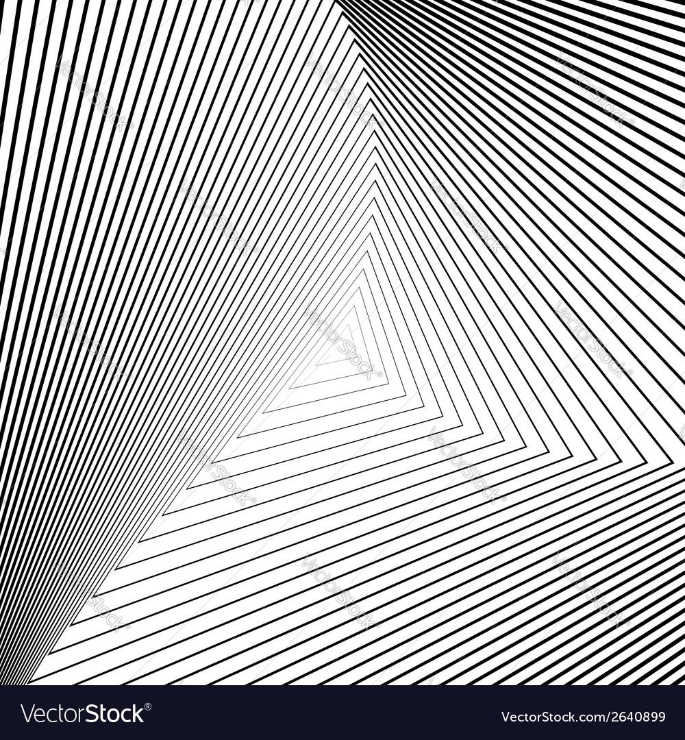 Design monochrome triangle movement background vector | Price: 1 Credit (USD $1)