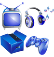 Set of icon vector