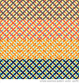 Geometric ornament printed seamless pattern vector