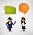 Work group business cartoon people vector