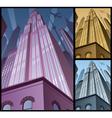 Cityscape vertical 2 vector