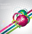 Stylish party design vector
