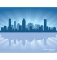 Montreal canada skyline vector